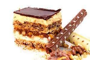 snickers - prajitura de casa ribana eve